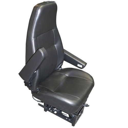 Bostrom 2341167-544 High Back Black Vinyl T914 Airride Seat with Armrests