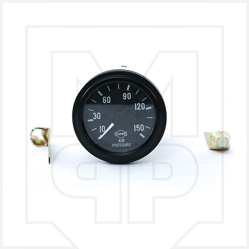 McNeilus 1138880 Single Air Pressure Gauge with Lamp