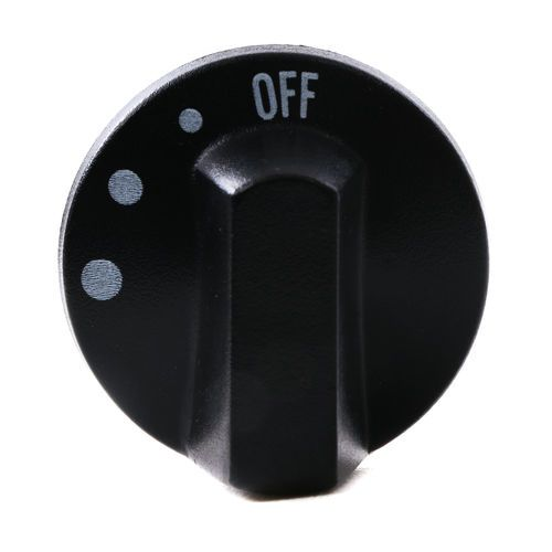 ACC 04205800A Heater Switch Knob for 3 Speed Fan
