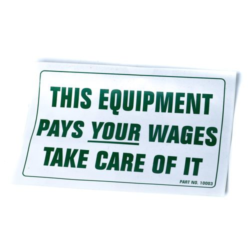 Decal-Equipment Pays