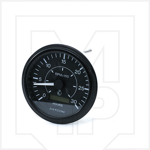 Datcon 105636 Tachometer Gauge With Hour Meter - Model Number 64M30Cu