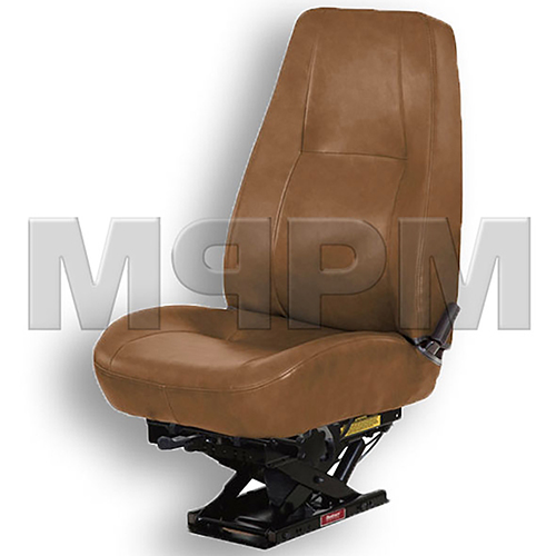 Bostrom 2343070-545 Low Back Brown Vinyl Seat - T910