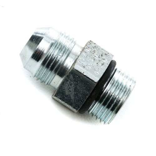 1/2 Male JIC x 1/2 Male O-Ring Boss Fitting - Straight Thread Connector - Steel