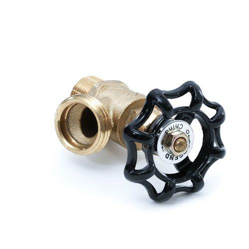 Terex 13106 Brass Washdown Hose Water Valve   13106