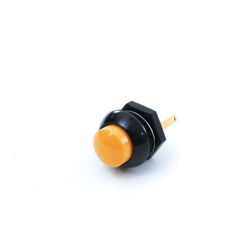McNeilus Electric Yellow Push Button Switch