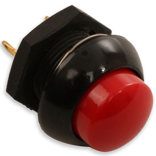 McNeilus 0189124 Electric Red Push Button Switch