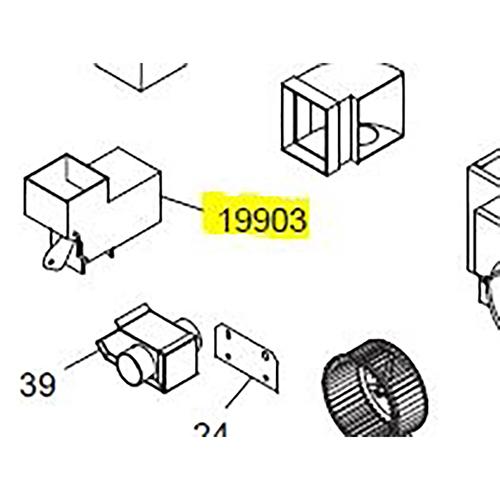 ACC Climate Control 1624023D3001A Defroster Plenum