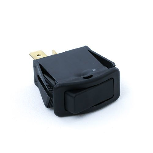 Beck 36351 2-Position Black Rocker Switch for Drum Control On-Off
