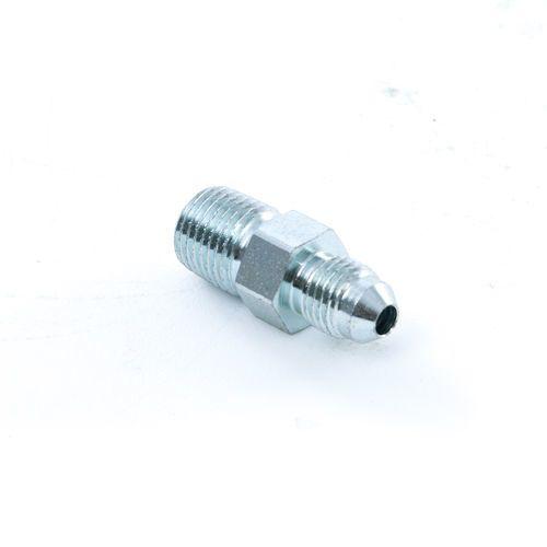 1/4 Male JIC x 1/4 Male Pipe - Male Connector - Steel