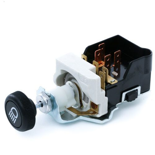 Cole Hersee 71092-02 Headlight And Domelight Push Pull Switch With Dimmer