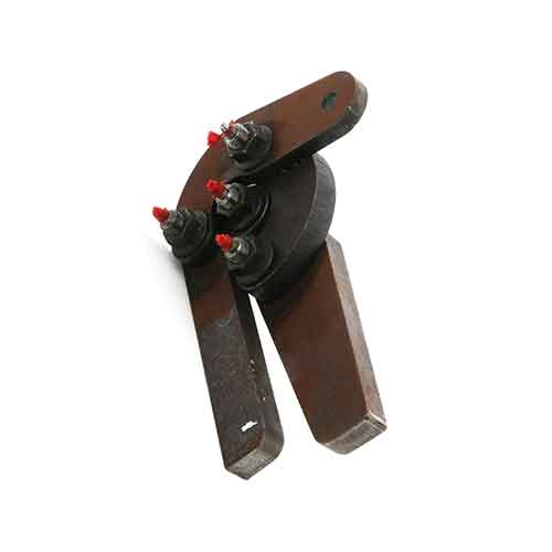 Terex 28747 Hydraulic Chute Hinge Assembly RH Flip 2-3