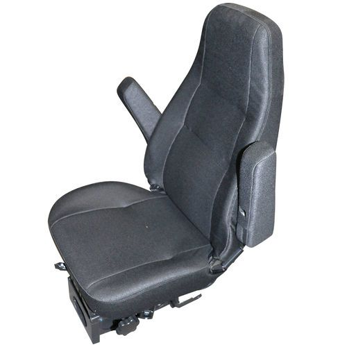 Bostrom 2341167-550 High Back Black Cloth T914 Airride Seat with Armrests