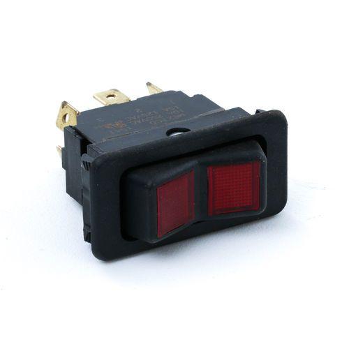 Eaton 8005K32N324V22 Rocker Switch-On/Off/On Red