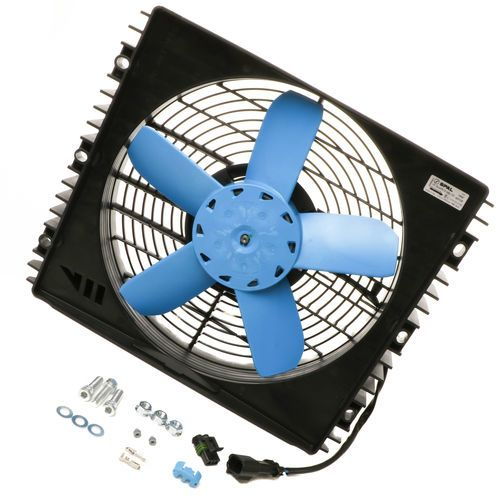 ConTech 740009 Hydraulic Oil Cooler Fan Motor Assembly