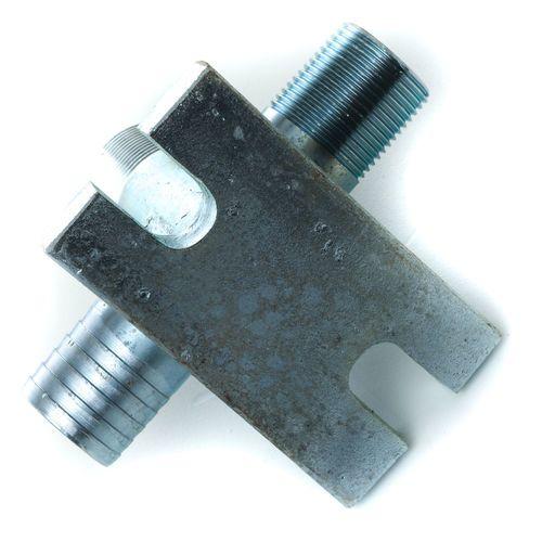 Con-Tech 71-0001 Steel Water Line Tee Assembly 1in x 1in x 3/4in   710001