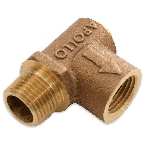 CBMW 80100466 1/2in Air Safety Relief Valve 60PSI, Bronze