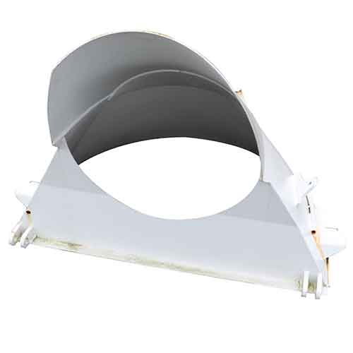 Con-Tech 215289 Low Profile Paver Charge Hopper - 4 Inch Drop | 215289