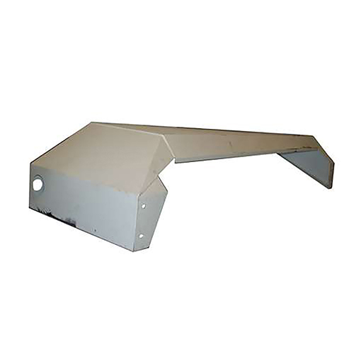 Beck 15950 110x31x18 Left Hand Steel Fender with Light Holes