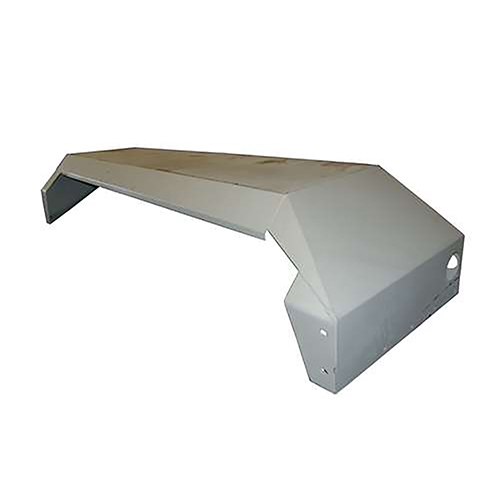 Beck 15960 110x31x18 Right Hand Steel Fender with Light Holes