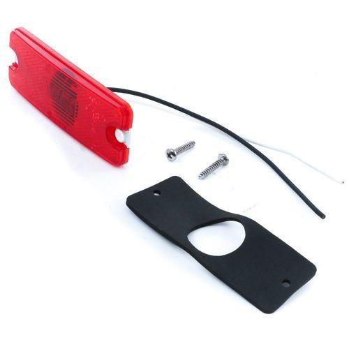 Oshkosh 1400106 1X4 Red LED Marker Clearance Light