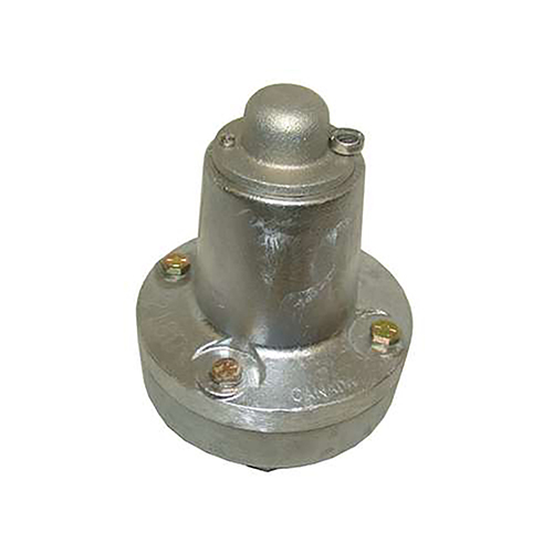 Plant Cement Blower 2in Relief Valve set at 15 PSI