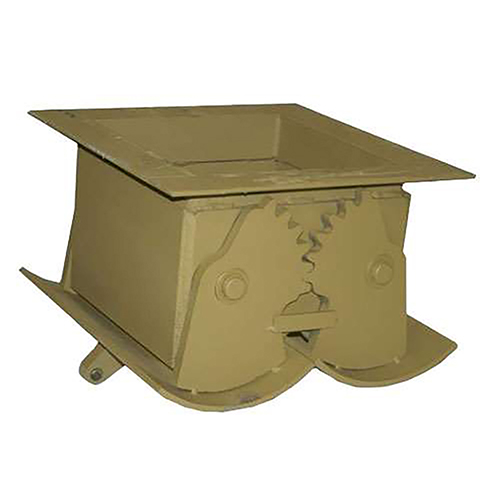 Stephens 740.72905 20x20 Clam Gate for Aggregate Bins and Hoppers | 74072905