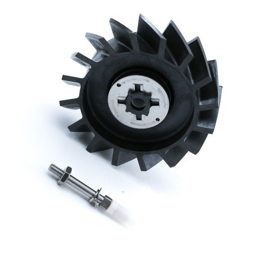 Badger Meter 258072, 2 Pole Rotor and Spindle for 2