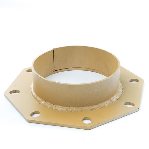 Cement Silo Boot Flange with Shroud Ring for 8 inch Bray Butterfly Valve