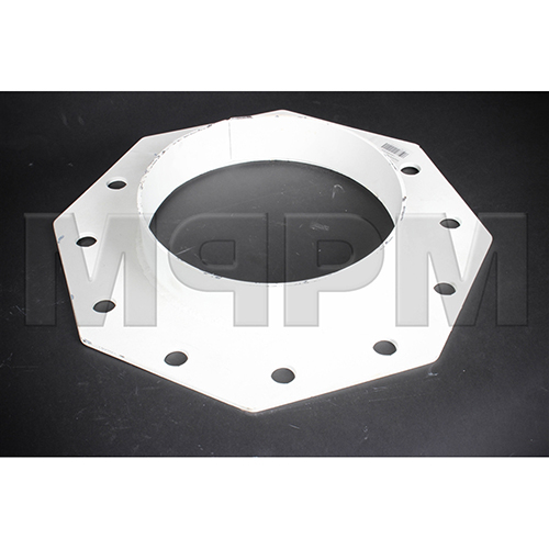 Cement Silo Boot Flange with Shroud Ring for 12 inch Bray Butterfly Valve   C12