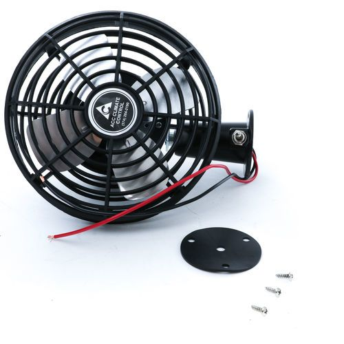 ACC Climate Control 2 Speed 12 Volt Cab Fan - 182899021 with Plastic Guard and Switch