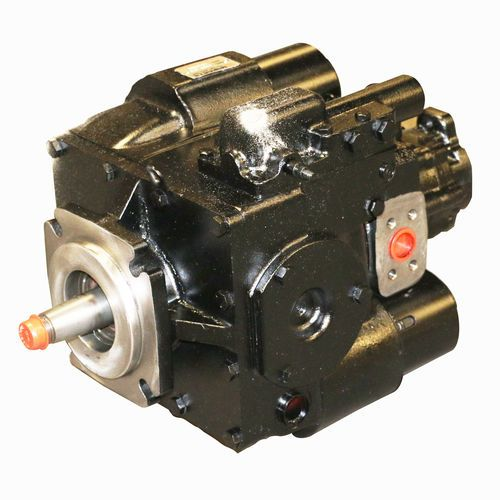 Eaton 5423-418 Hydraulic Pump-CCW with A-Pad Charge Pump - Manual Control and 1-3/8