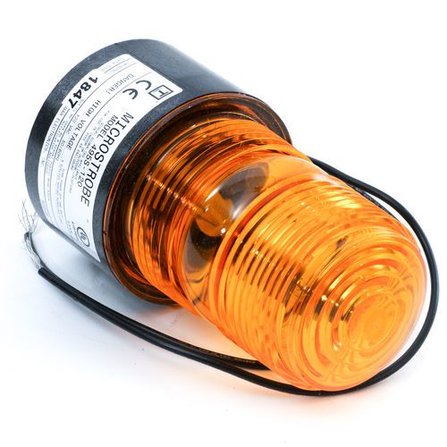 R and S Loadcraft 900137-001 Plant Silo Warning Light - Amber