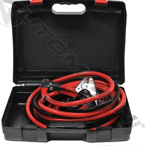 Dual Booster Welding Cables 2 GA 20 Feet - Copper Clad Aluminum