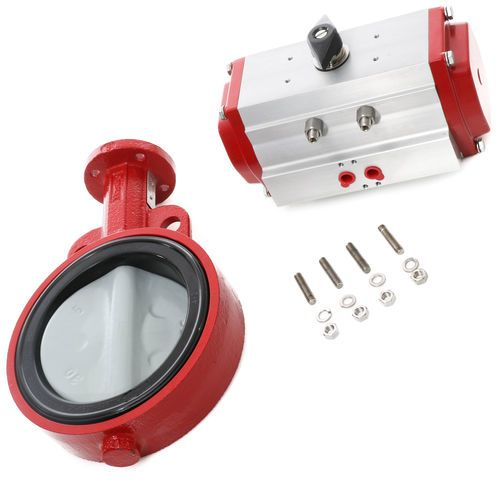 Bray BRAY-6BW 6in Butterfly Valve and Actuator Assembly for Water Scales