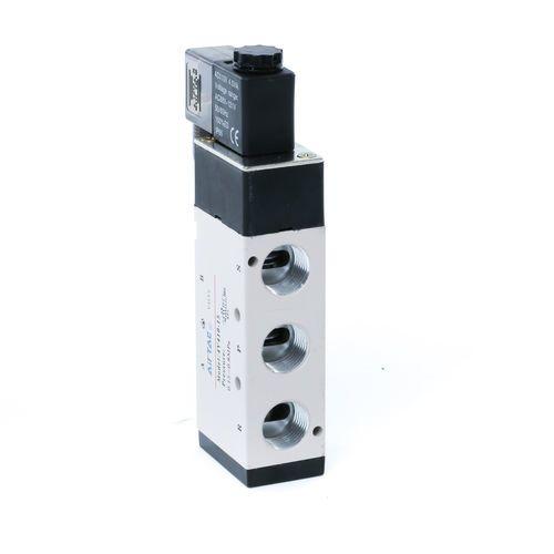 Baomain 4V410-15 Pneumatic Solenoid Air Valve AC110V 5 Way 2 Position
